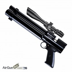 Multi-Shot Side Lever PCP Pistol bundle .177 or .22 - MSLPCPPBB001